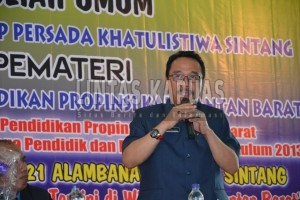 Kepala Dinas Pendidikan dan Kebudayaan Provinsi Kalimantan Barat, Alexius Akim