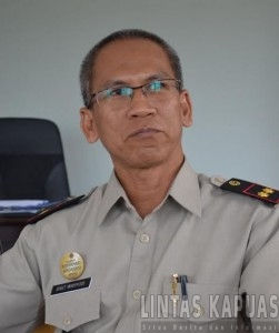 Kepala Badan Pertanahan Nasional (BPN) Melawi, Sigit Wahyudi