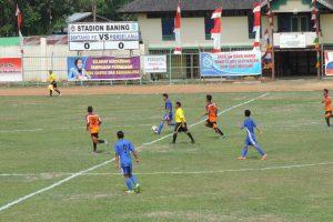 Pertandingan antara Sintang FC Melawan Bengkayang