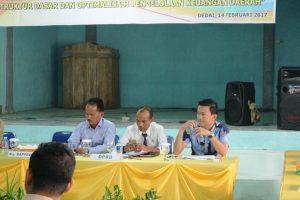 Anggota DPRD Sintang Hadir Dalam Musrembang Kecamatan Dedai