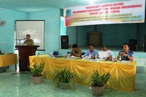 Camat Dedai, Sabendi membuka Secara Resmi Musrembang Kecamatan Dedai