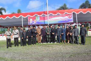 Sekda Sintang, Foto Bersama dengan Sejumlah Unsur Pimpinan Forkorpimda Sintang Usai Upacara Peringatan hari kebangkitan Nasional ke 109